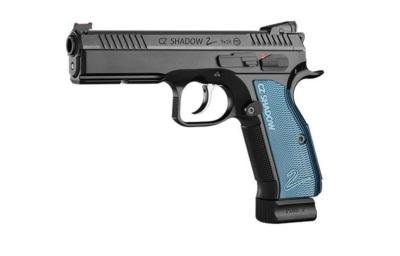pistolet cz shadow 2 na białym tle