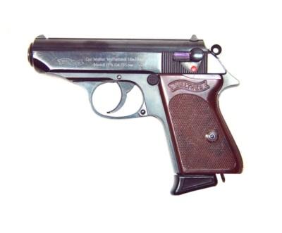 pistolet walther ppk .32 auto pistolet bonda