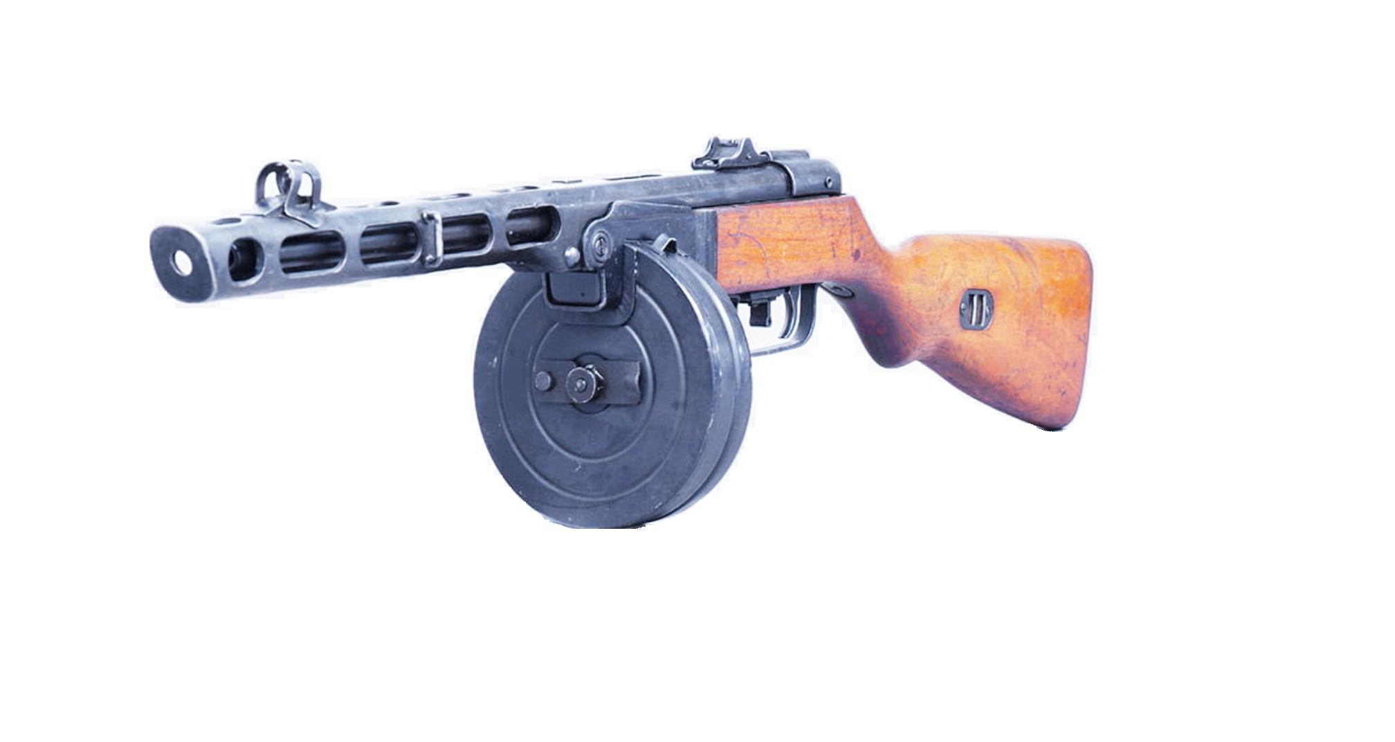 pistolet maszynowy ppsz wz 41 7,62x25mm czterej pancerni