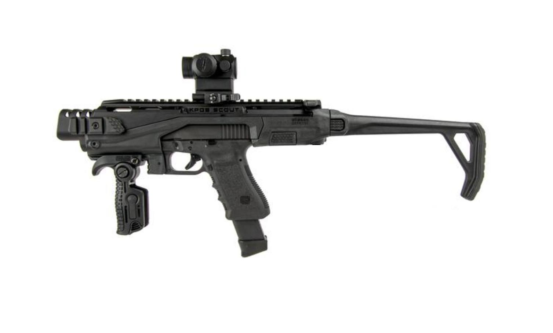 pistolet maszynowy uzi 9x19mm fabryka strzelania